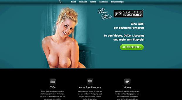 Pornostar, Gina Wild - Video, DVD, Kostenlos Livecam, XXX & XXL Bonusmaterial