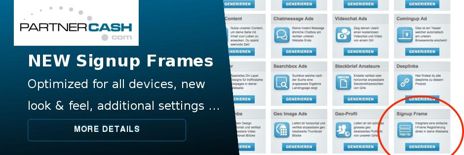 Signup Frames!